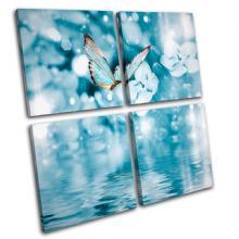Blue Butterfly Tranquil Animals - 13-0599(00B)-MP01-LO